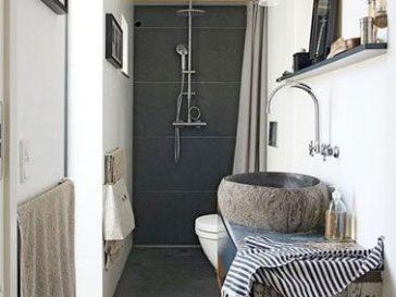 Id e d coration salle de bain maison famille cosy sydney for Idee salle de bain en longueur