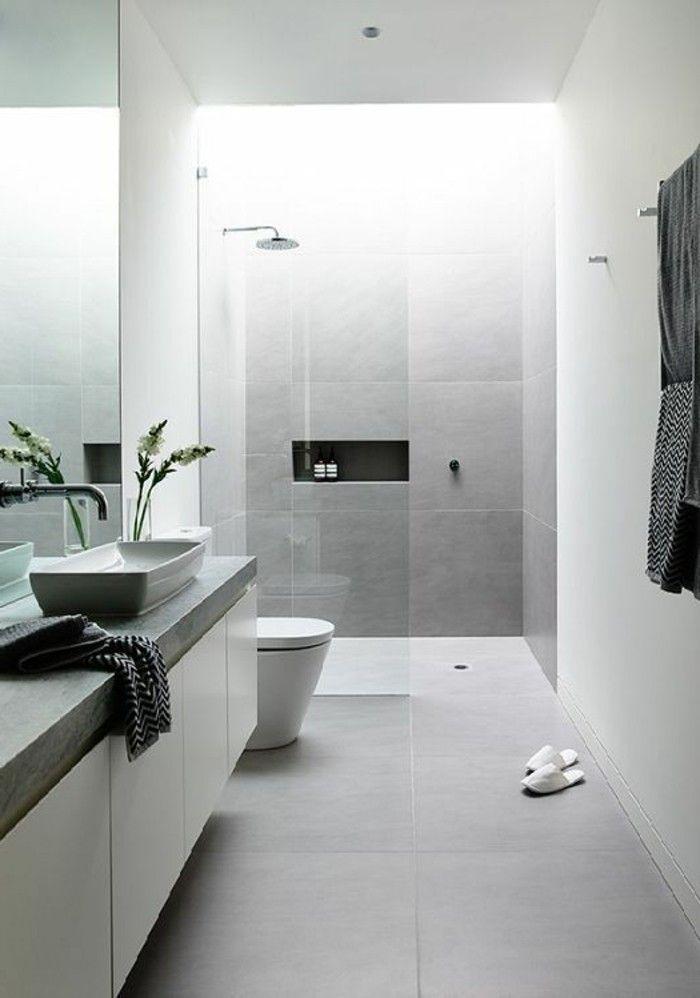 Idee decoration salle de bain magnifique salle de bain for Salle de bain design avec image encadree décoration