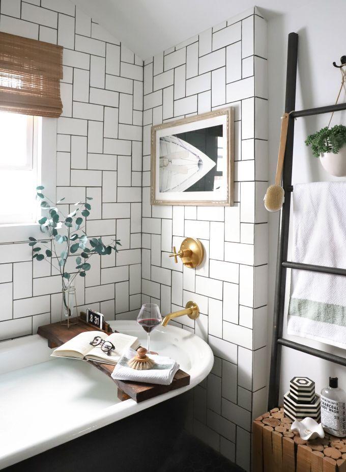 id e d coration salle de bain my diy live edge bath board leading. Black Bedroom Furniture Sets. Home Design Ideas