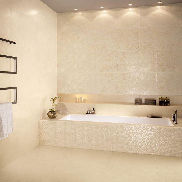Idée décoration Salle de bain - Niche pleine longueur - ListSpirit ...