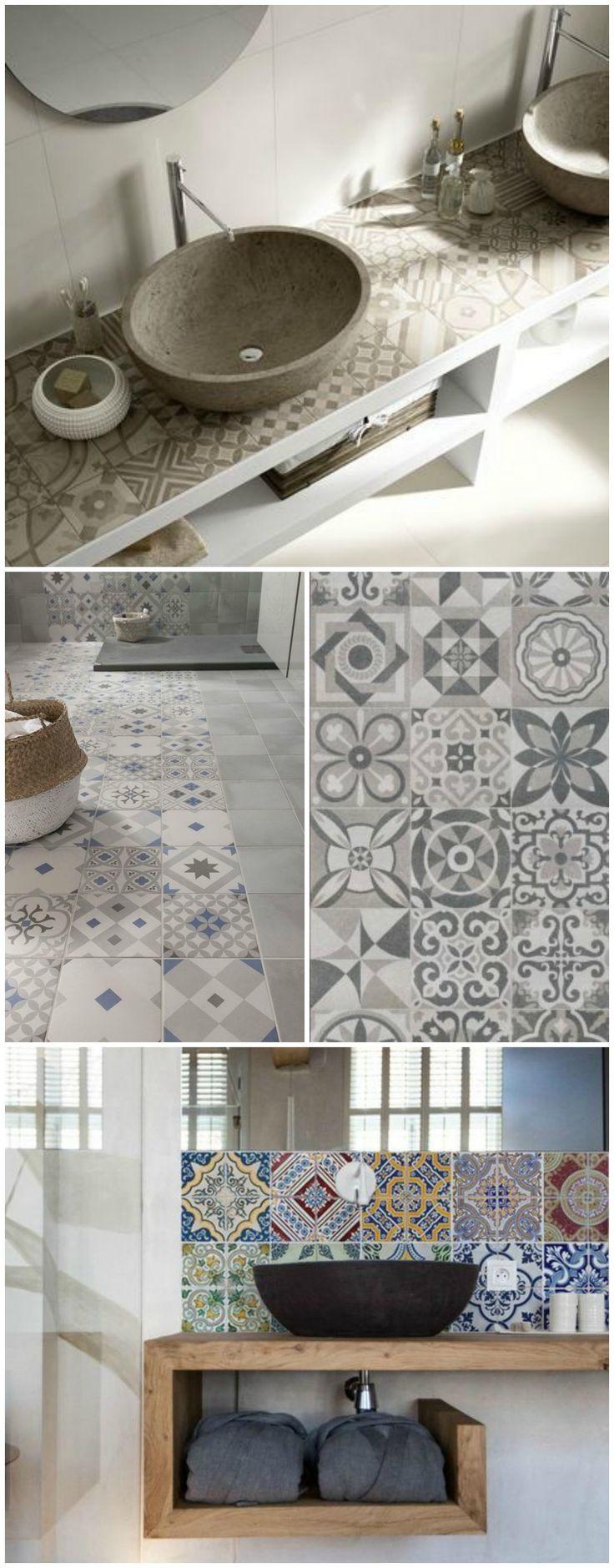 Id e d coration salle de bain piastrelle per bagno - Decorazioni per piastrelle bagno ...