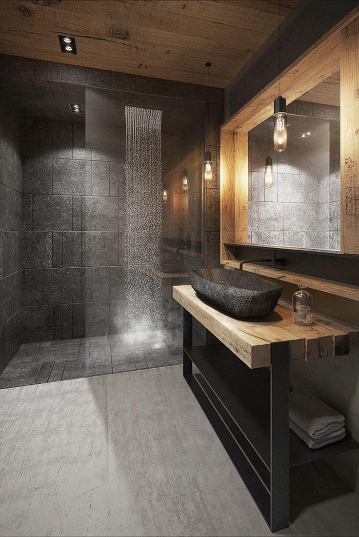 id e d coration salle de bain salle de bain de style de style moderne par razoo architekci. Black Bedroom Furniture Sets. Home Design Ideas