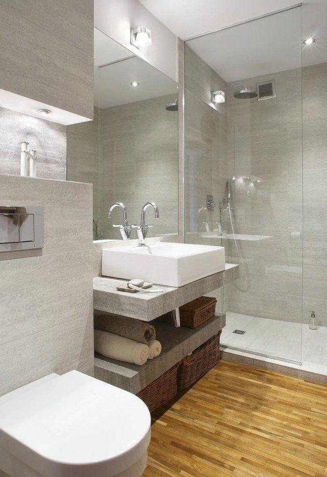 id e d coration salle de bain salle de bains avec. Black Bedroom Furniture Sets. Home Design Ideas