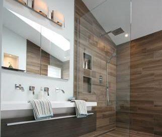 id e d coration salle de bain idees separation wc salle de bains leading. Black Bedroom Furniture Sets. Home Design Ideas
