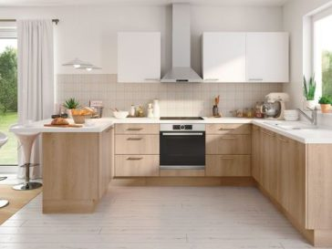 Id e relooking cuisine mod le de salle de bain l - Regle amenagement cuisine ...