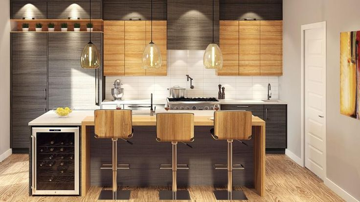 Id e relooking cuisine armoires de cuisine moderne for Cuisine moderne montreal