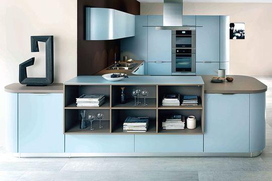id e relooking cuisine cuisine bleu pastel pour tre dans la tendance acheter une cuisine. Black Bedroom Furniture Sets. Home Design Ideas