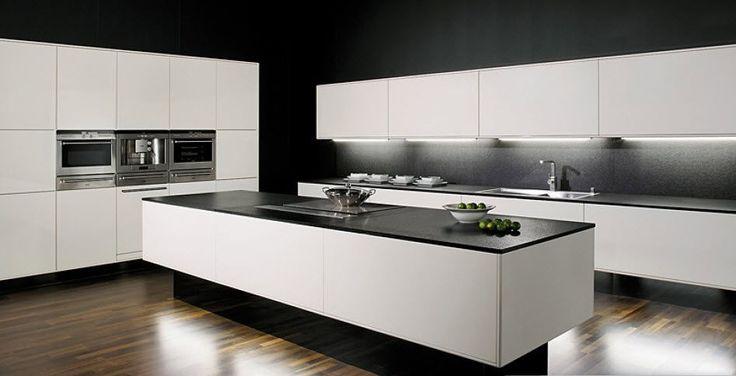 id e relooking cuisine cuisine contemporaine allmilmoe avec ilot centrale fa ades blanches et. Black Bedroom Furniture Sets. Home Design Ideas