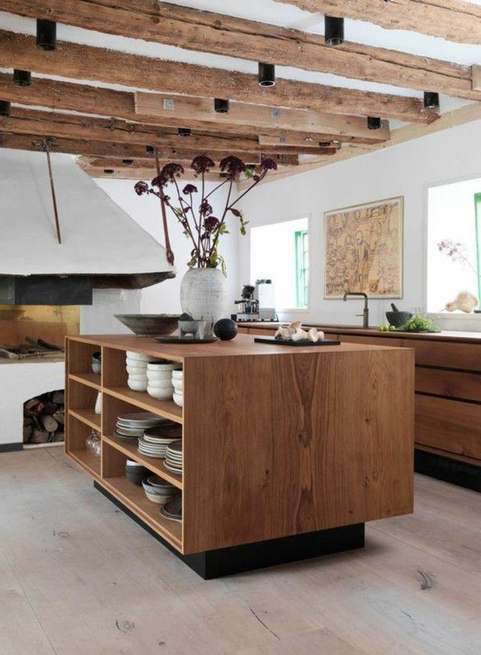 id e relooking cuisine cuisine quip e avec ilot central. Black Bedroom Furniture Sets. Home Design Ideas