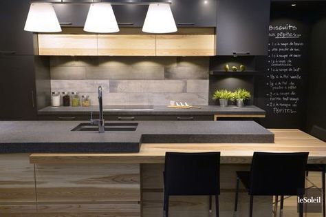 id e relooking cuisine d 39 un c t un espace classique. Black Bedroom Furniture Sets. Home Design Ideas