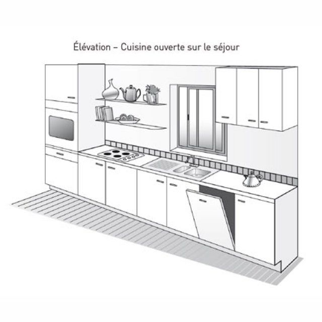 id e relooking cuisine plan de cuisine lin aire marie claire maison. Black Bedroom Furniture Sets. Home Design Ideas