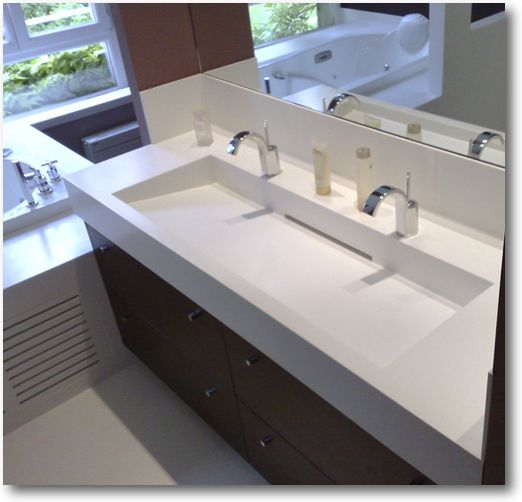 id e relooking cuisine plan vasque corian double crea diffusion sp cialiste corian. Black Bedroom Furniture Sets. Home Design Ideas