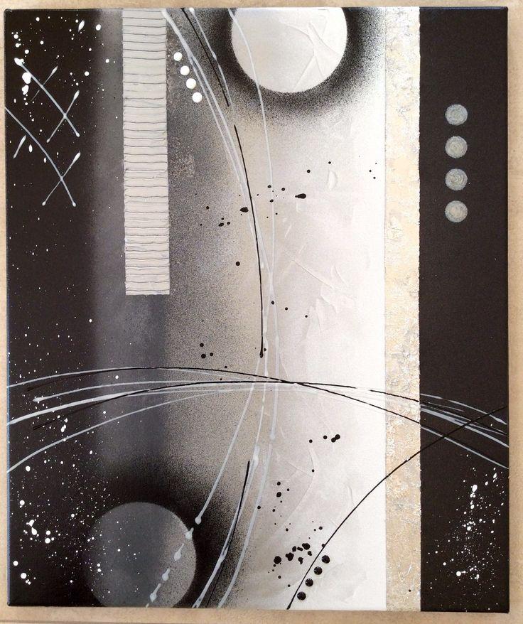 id e relooking cuisine tableau abstrait par l 39 atelier de corinne leading. Black Bedroom Furniture Sets. Home Design Ideas