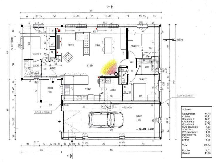 id e relooking cuisine votre avis sur mon plan plain pied 4 chambres 41 messages. Black Bedroom Furniture Sets. Home Design Ideas