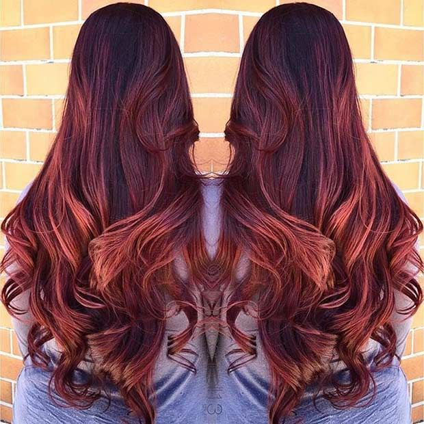 Id es coupe cheveux pour femme 2017 2018 les cheveux roux sont toujours la mode et bien - Coupe a la mode femme 2017 ...
