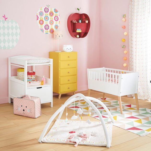 Beautiful Chambre Bebe Rouge Et Beige Images   House Design .