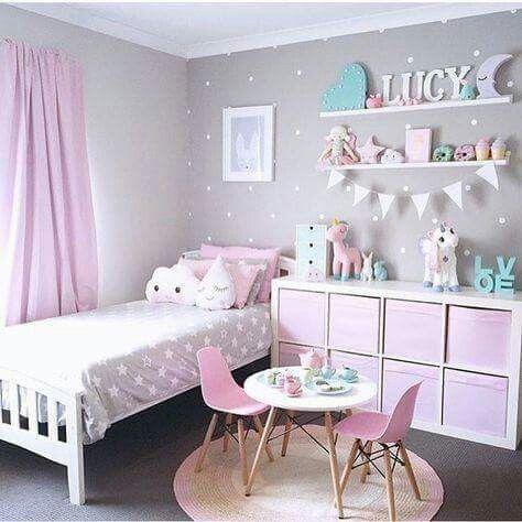 Relooking et décoration 2017 / 2018 - Jolie chambre de petite fille ...