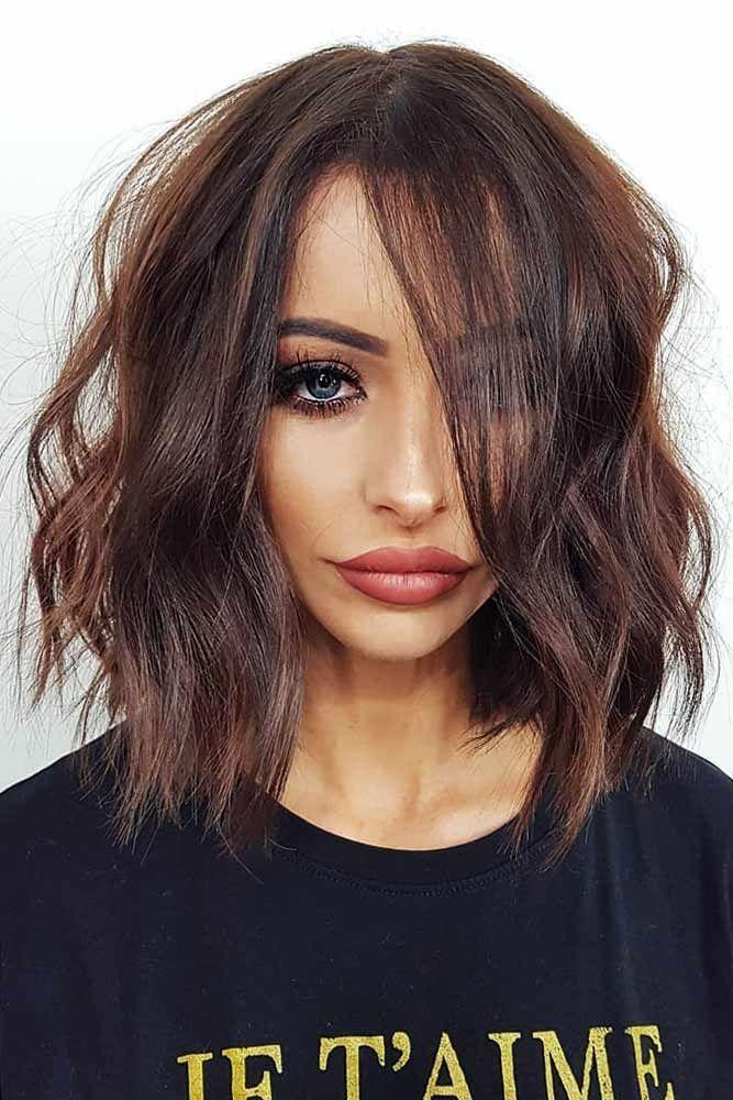 nouvelle tendance coiffures pour femme 2017 2018 les coupes de cheveux de bob moyens sont l. Black Bedroom Furniture Sets. Home Design Ideas
