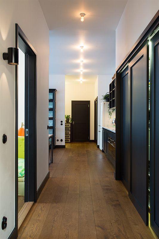 d co salon porte fonc mur blanc parquet listspirit. Black Bedroom Furniture Sets. Home Design Ideas