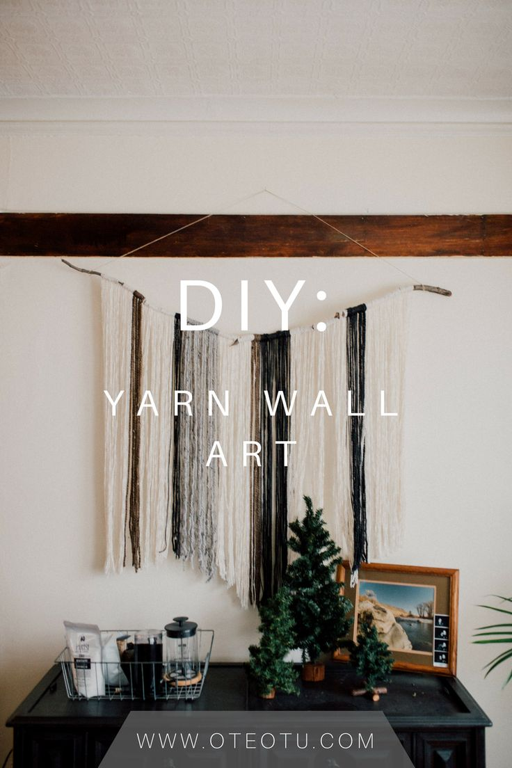 Diy Crafts Diy Yarn Wall Art Do It Yourself Yarn Wall Hanging Wall Art Craft Pr