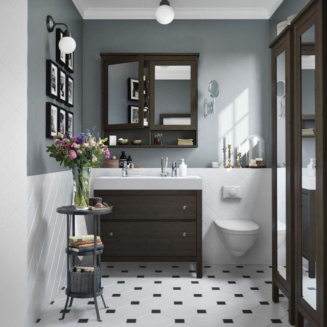 Idée décoration Salle de bain - Collection Hemmes. Meuble à miroir 2 ...