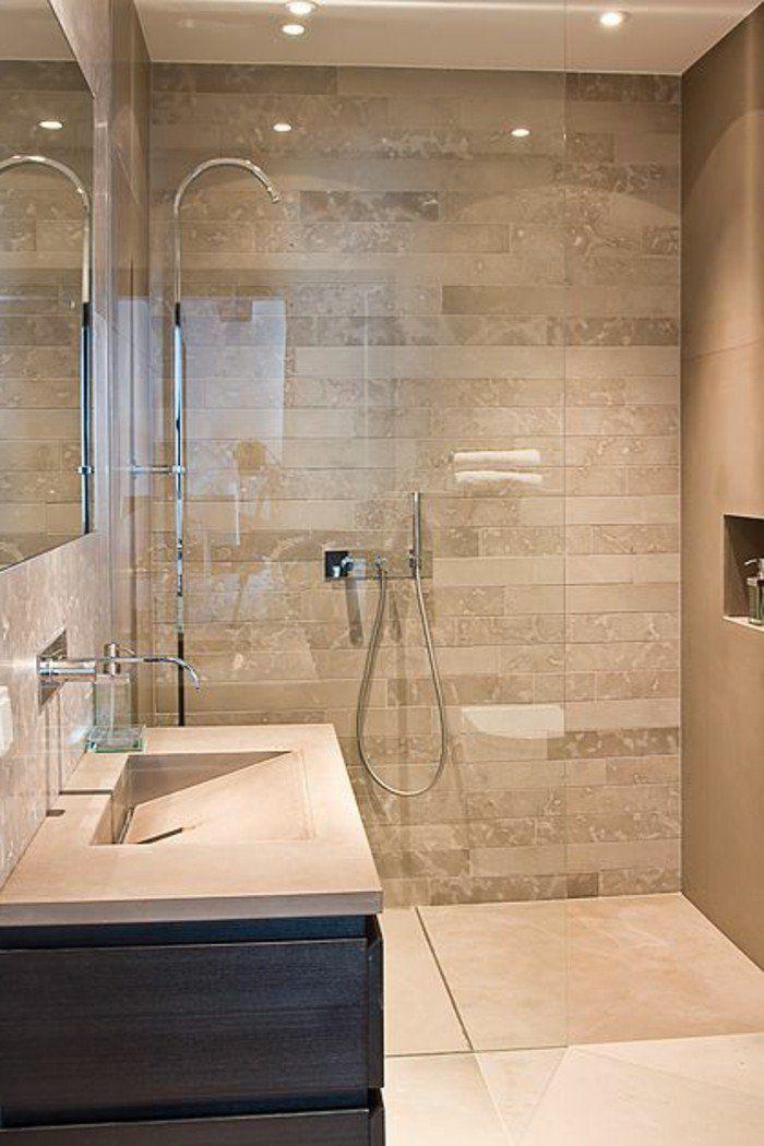 id e d coration salle de bain vasque poser rectangulaire carrelage de salle de bain beige. Black Bedroom Furniture Sets. Home Design Ideas