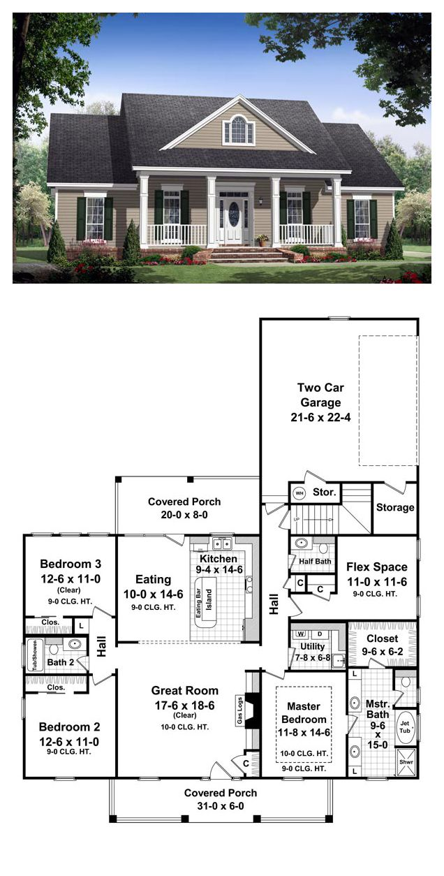 Plans maison en photos 2018 colonial style cool house for Colonial homes magazine house plans