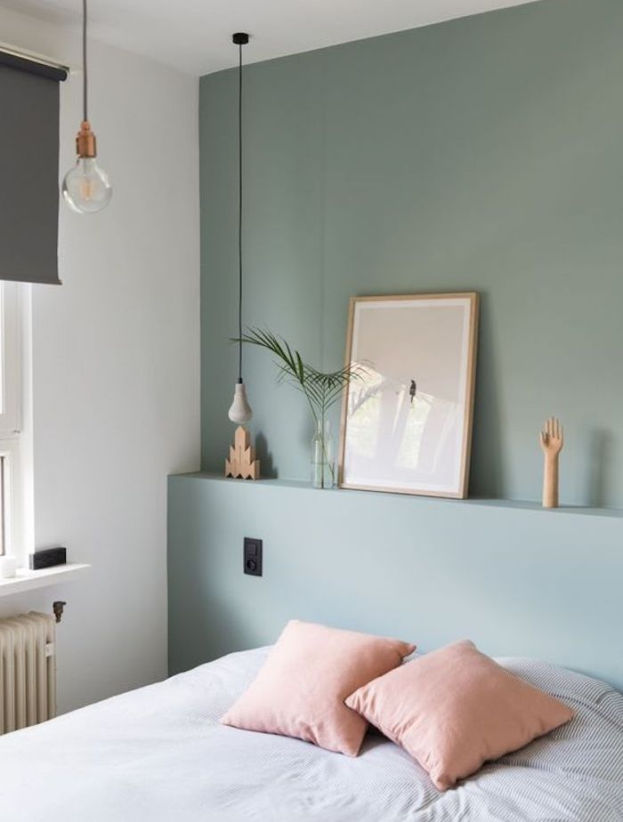 D co salon comment d corer sa chambre mur couleur vert for Decorer sa chambre adulte