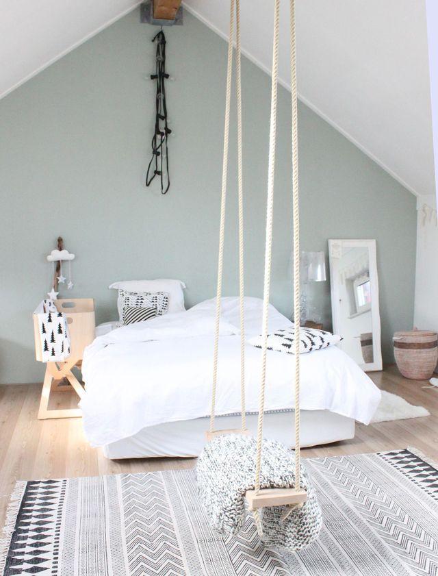 Déco Salon - Une balançoire dans la chambre pour hiberner ...