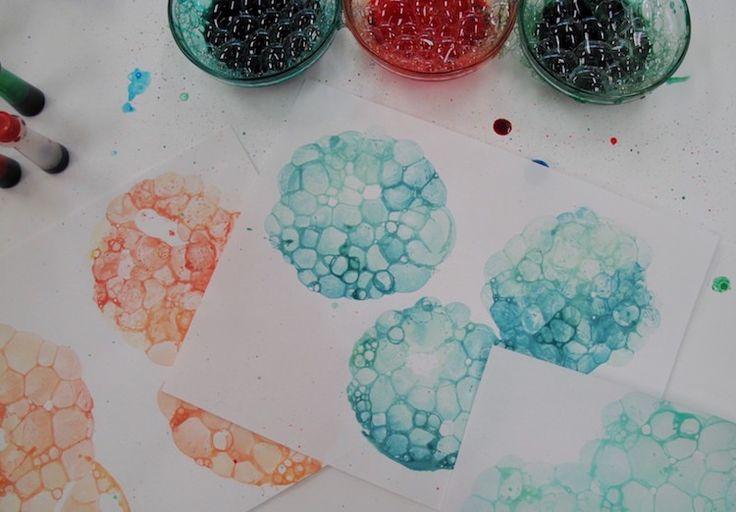8eefa0e87f4d4 loisirs créatifs et bricolage pour filles et garçons- empreintes de bulles   …