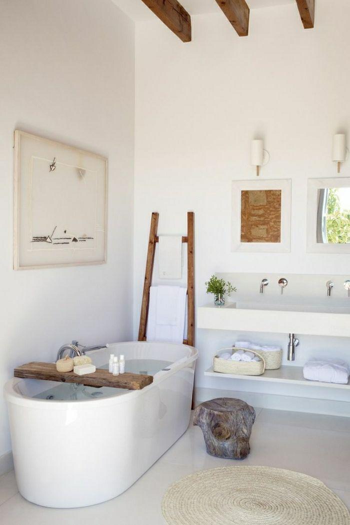 Idée décoration Salle de bain - Baignoire ovale encastrable ...