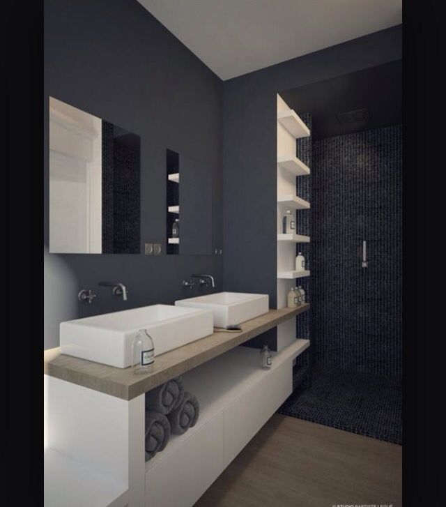id e d coration salle de bain b ton leading inspiration culture. Black Bedroom Furniture Sets. Home Design Ideas