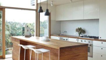Id e relooking cuisine armoires de cuisine contemporaine for Armoires cuisine bois