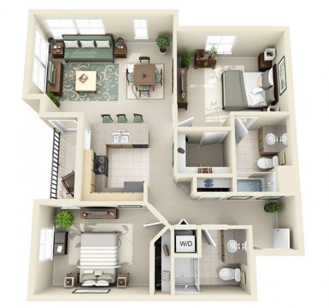 Apartments For Rent 2 Bedroom: Plans Maison En Photos 2018