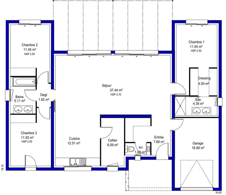Plans Maison En Photos   Maison  Emma  Maisons Lara