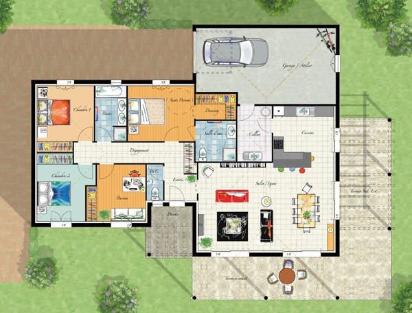 plans maison en photos 2018 modele maison villa thalia ForVilla Maison Plans Photos