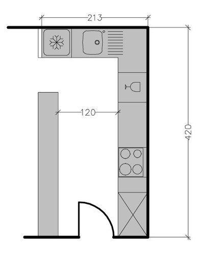 Plans maison en photos 2018 plan de cuisine en l 8 for Plan cuisine en l