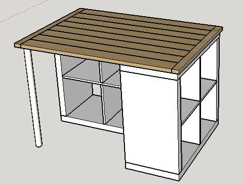 plans maison en photos 2018 plan de travail pour ilot central leading. Black Bedroom Furniture Sets. Home Design Ideas