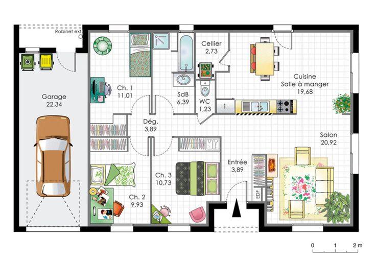 Plans Maison En Photos 2018 - Plan Maison Americaine - ListSpirit ...