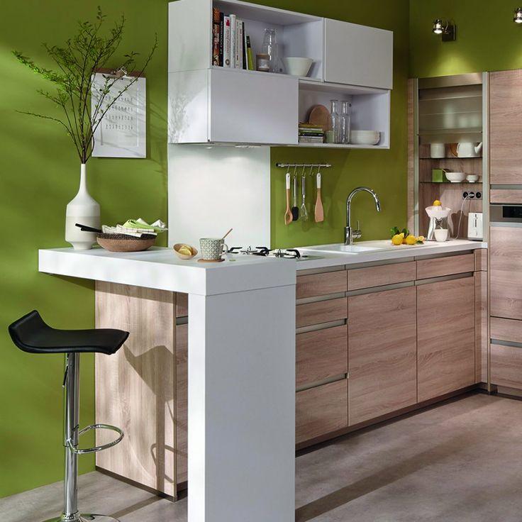 plans maison en photos 2018 un coin repas am nag en angle pour une petite cuisine marie. Black Bedroom Furniture Sets. Home Design Ideas