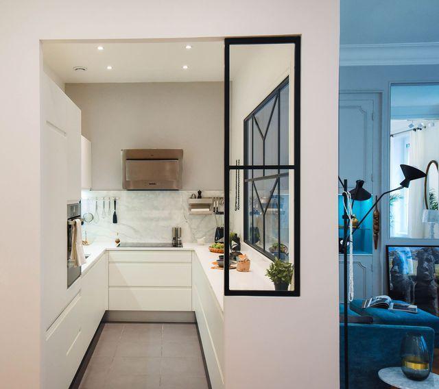 plans maison en photos 2018 une cuisine avec verri re de caract re imagin e par l 39 agence dune. Black Bedroom Furniture Sets. Home Design Ideas