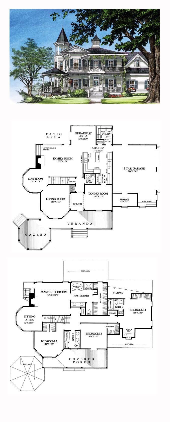 Plans Maison En Photos 2018 Victorian House Plan 86291