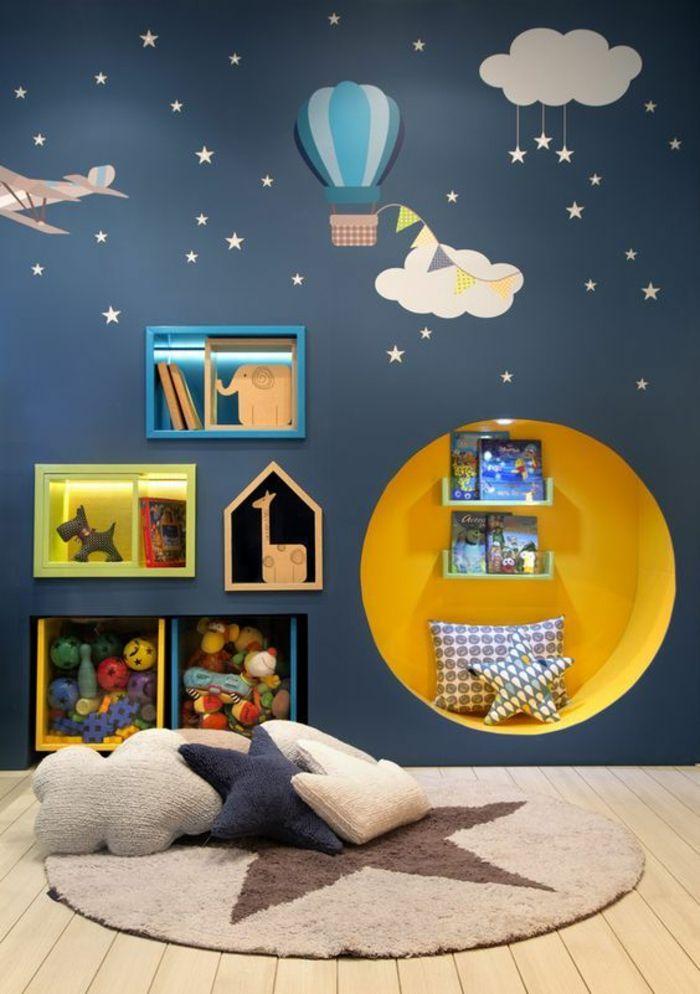 beautiful deco chambre bebe bleu canard images seiunkel. Black Bedroom Furniture Sets. Home Design Ideas