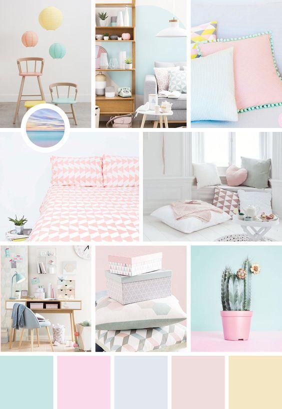 Relooking et décoration 2017 / 2018 - Une jolie chambre pastel toute ...