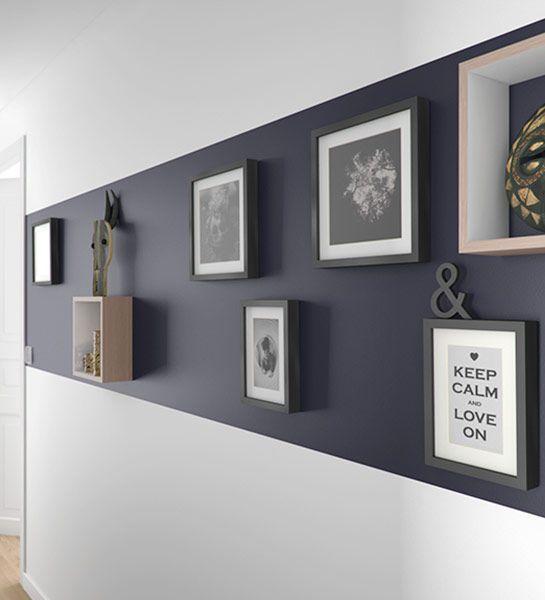 7 idées déco pour aménager un couloir | Travaux.com - ListSpirit.com ...