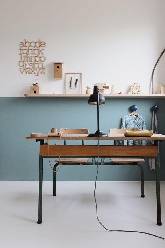 Déco Salon - Bureau enfant vintage Tessa Hop via Nat et nature ...