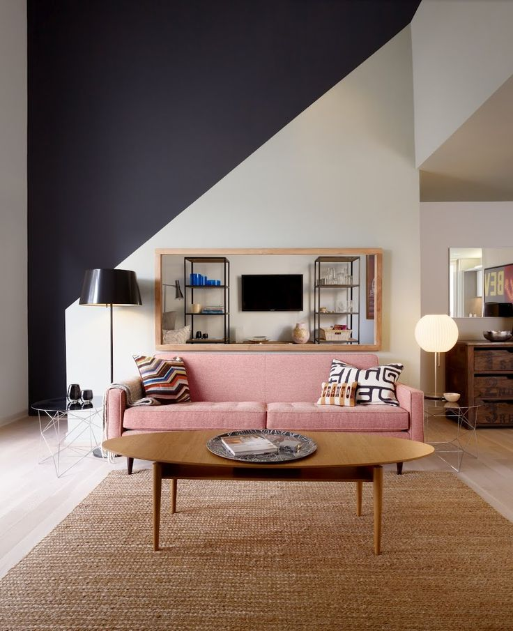 Déco Salon - Peinture grande hauteur sous plafond - ListSpirit.com ...