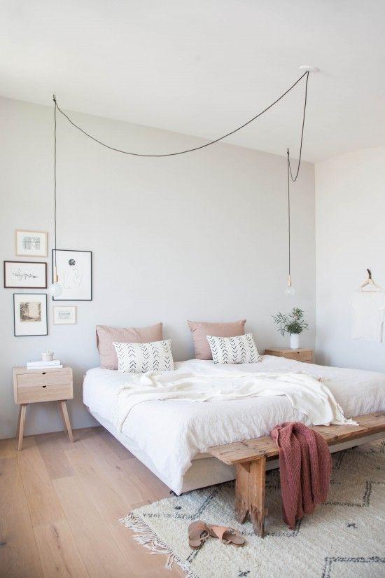 Décoration Maison En Photos 2018 - Chambre vieux rose et blanche ...