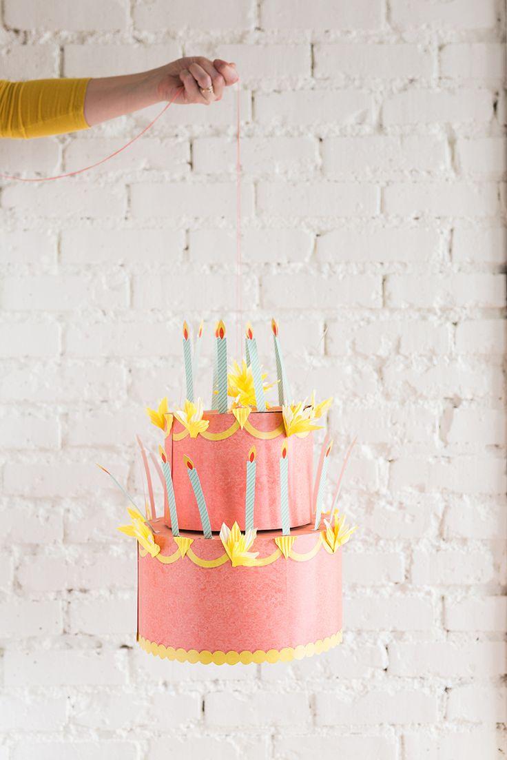 Diy Crafts Birthday Cake Chandelier Listspirit Com