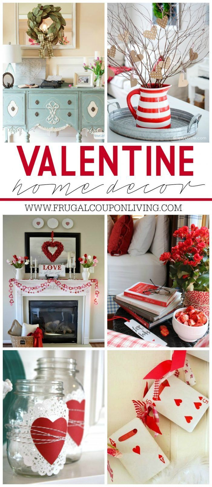 DIY Crafts - Valentine Home Decor Ideas on Frugal Coupon ... Free Printable Valentine's Day Decorations
